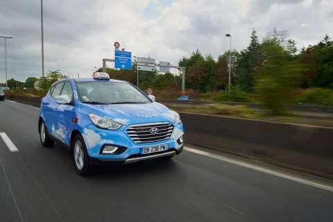 Hyundai ix35 Fuel Cell Taxi